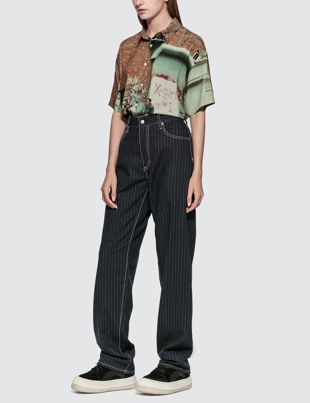 Eytys Benz Pinstripe Midnight Jeans