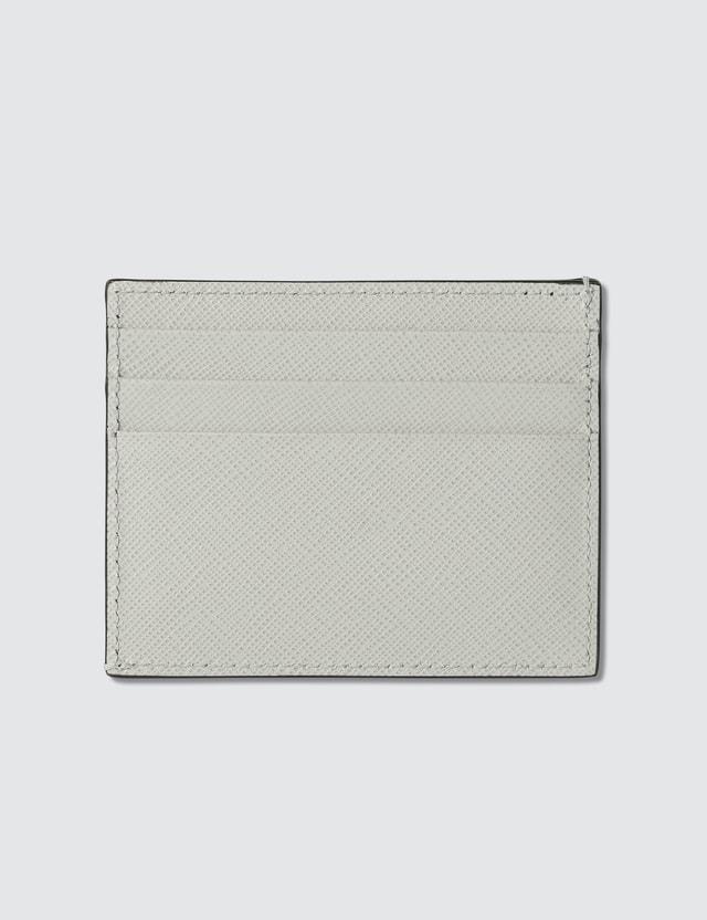 Prada Logo Credit Card Holder