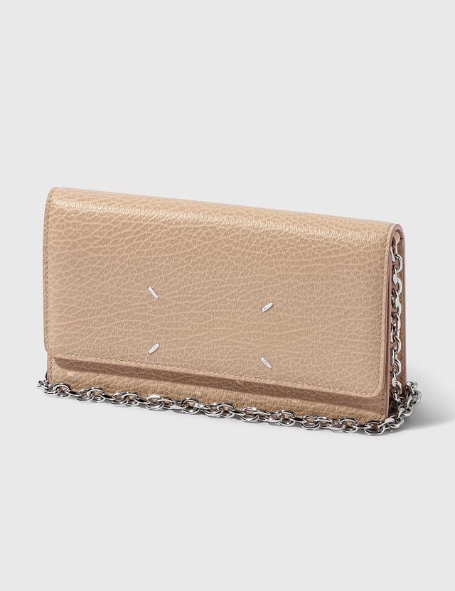 Maison Margiela Wallet On Chain Skin Women