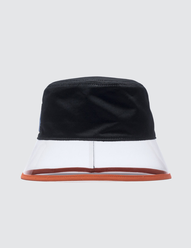 Prada PVC Popeline And Plex Bucket Hat
