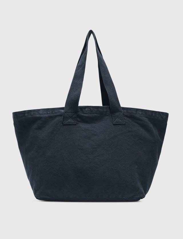 Sporty & Rich SRCNY Tote Bag Navy/white Print Women
