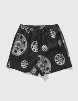 Pleasures Roadside Twill Shorts