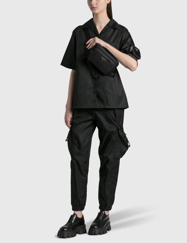 Prada Nylon Belt Bag Nero Women