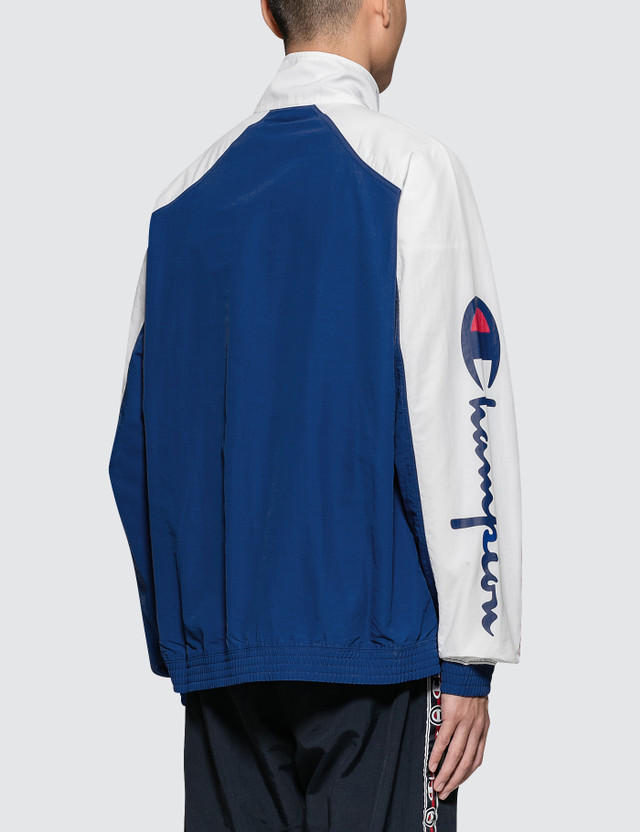 Champion Reverse Weave Sleeve Logo Jacket