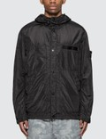 Stone Island Seersucker-TC Hooded Jacket Picture