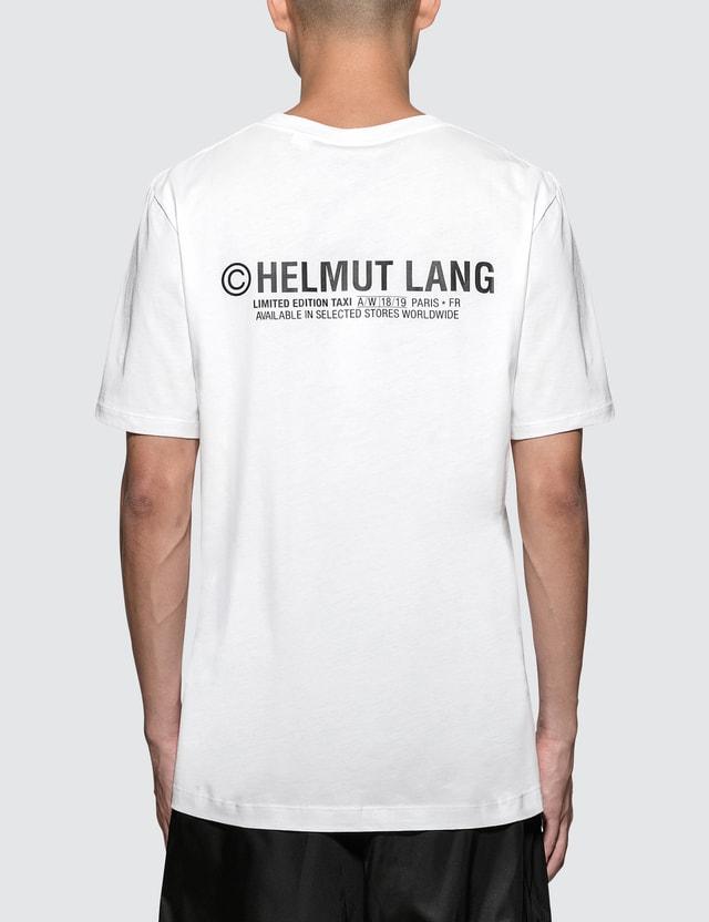 Helmut Lang Paris Taxi S/S T-Shirt
