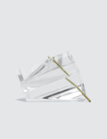 Concrete Objects. Clear Polygon Incense Burner Picutre