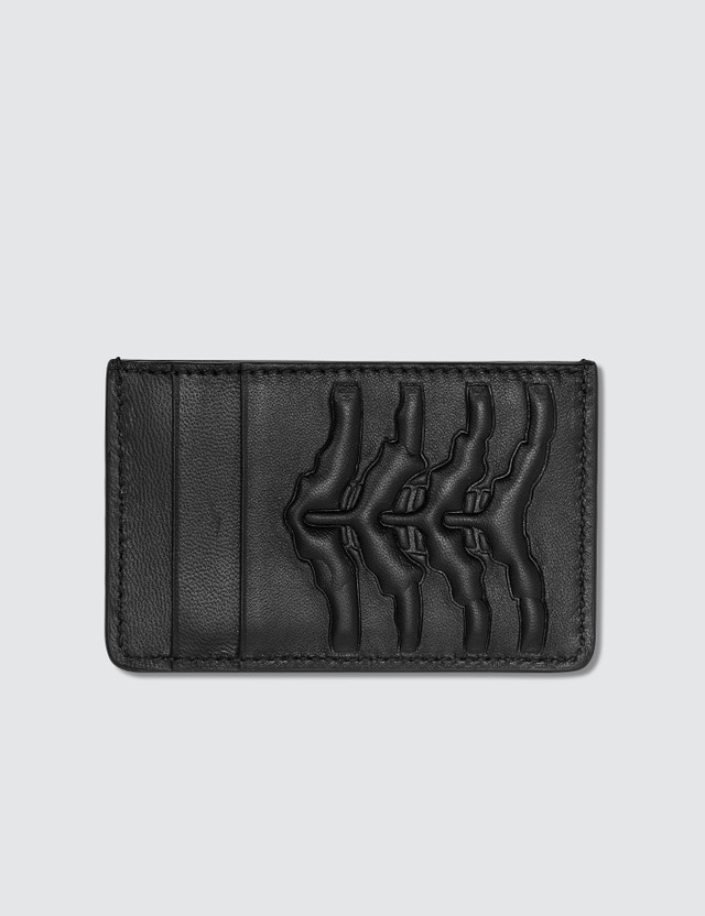 Alexander McQueen Embossed Card Holder