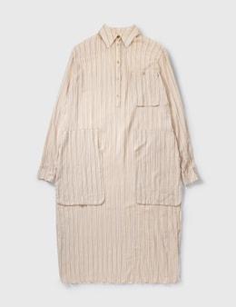 Loewe Paula Stripe Long Shirt