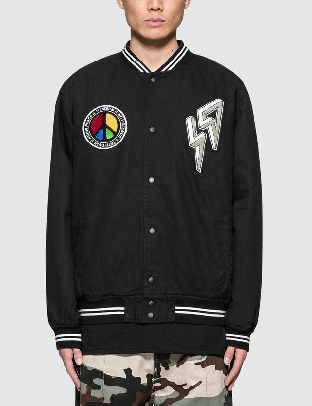 10.Deep Varsity Jacket