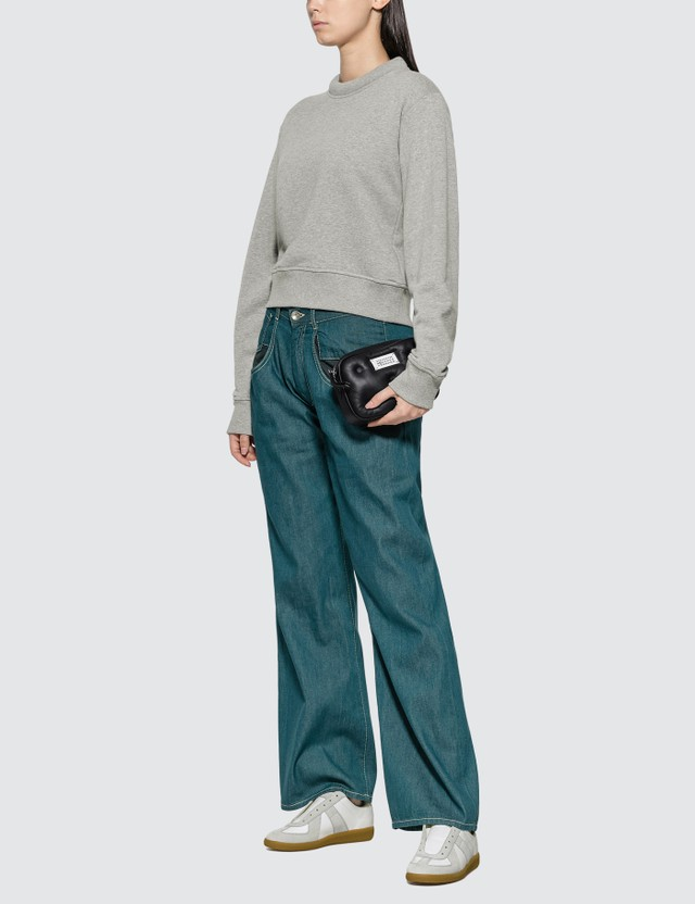 Maison Margiela Padded Collar Sweatshirt