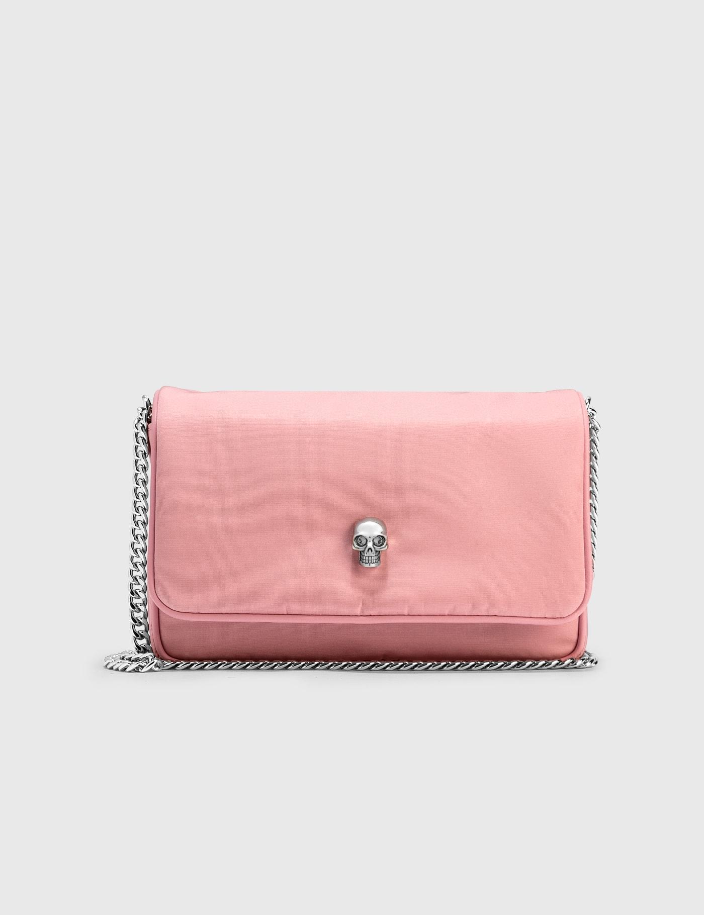 Alexander Mcqueen Small Skull Bag In Pink