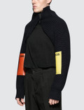 Raf Simons Knitted Sleeves With Patches