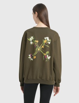 Off-White Flock Arrow Reg Crewneck