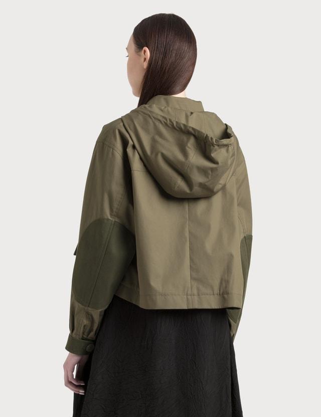 Loewe Hooded Jacket Military Green Women