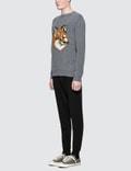 Maison Kitsune Tricolor Fox Patch Classic Jog Pant
