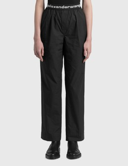 Alexander Wang.T Logo Elastic Pull-on Pants
