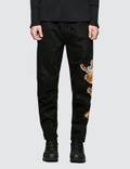 Maharishi Tiger Style Woven Track Pants Picture