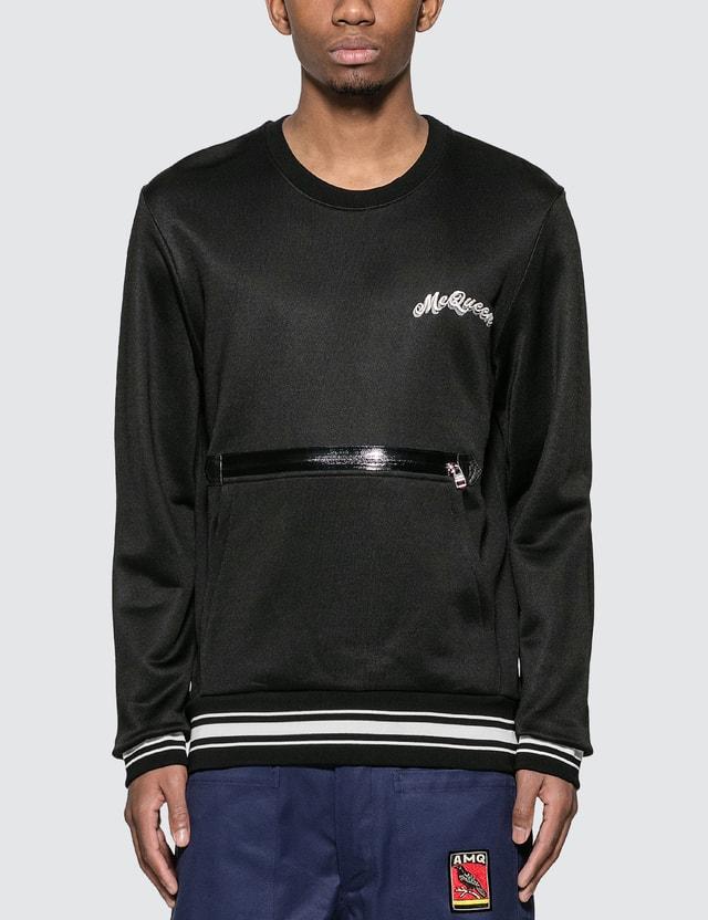 Alexander McQueen Pocket Front Logo Sweatshirt