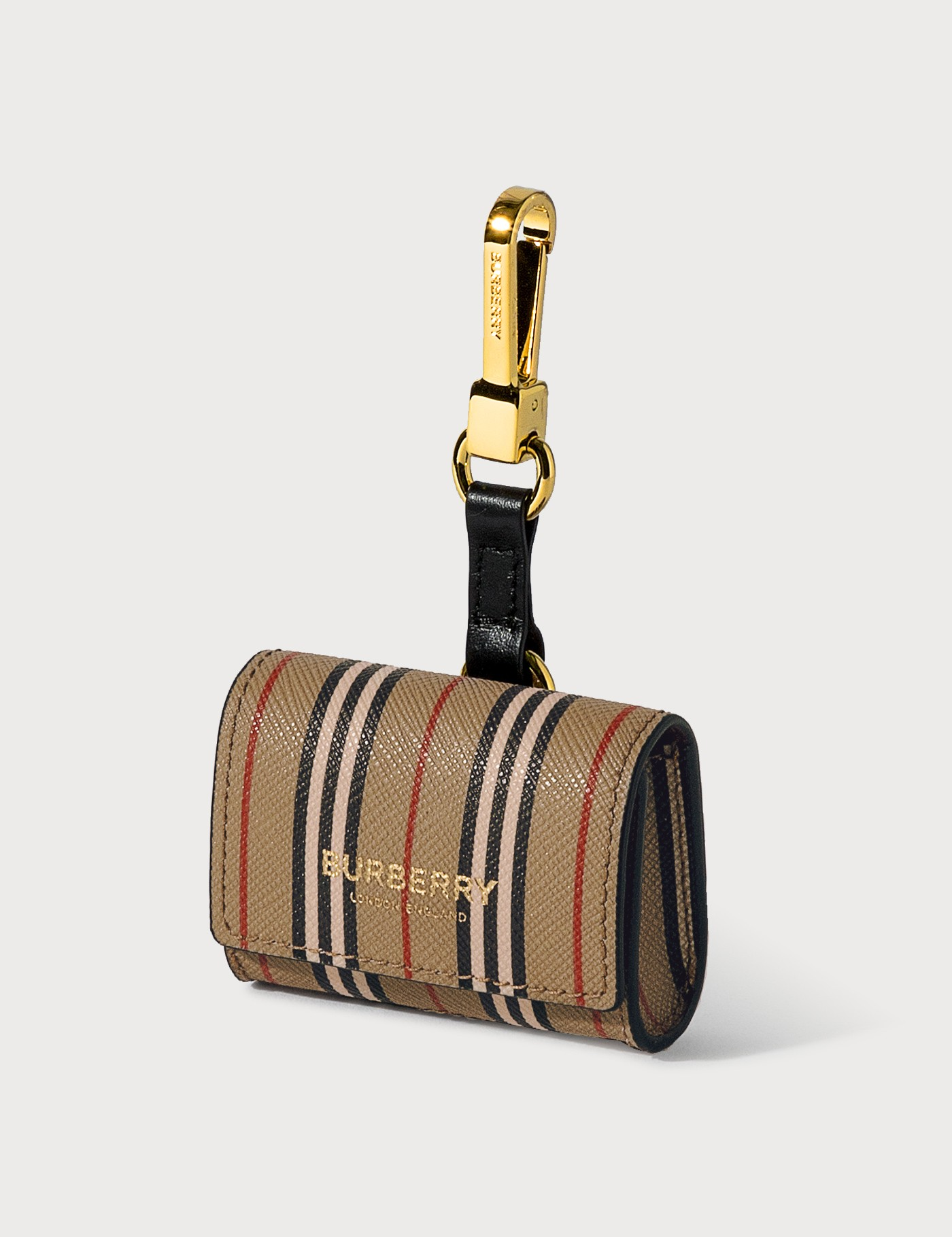 Burberry ICON STRIPE E-CANVAS AIRPODS PRO CASE