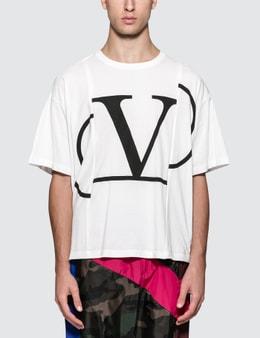 Valentino V Logo S/S T-Shirt