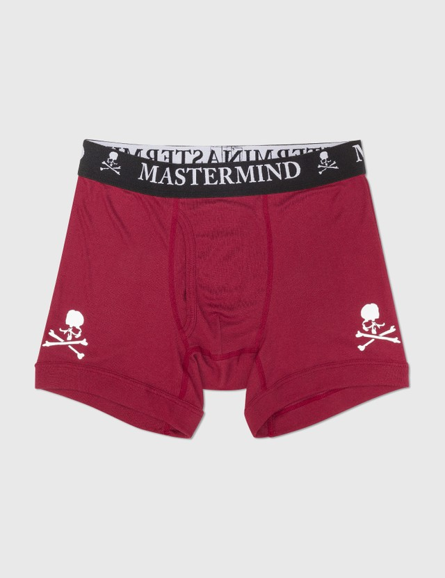 Mastermind World Cotton Boxer Set Of 3 Red/purple/black Men