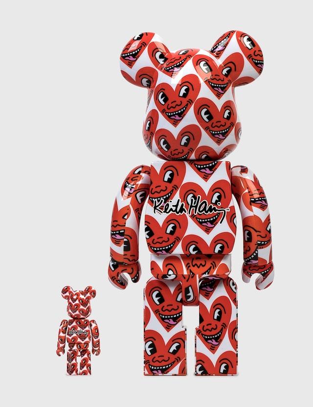 Medicom Toy Be@rbrick Keith Haring #6 100% & 400% Set