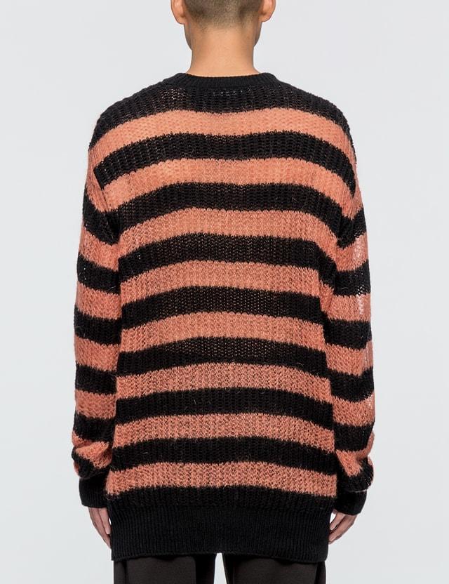 McQ Alexander McQueen Graphic Jacquard Knit Sweater