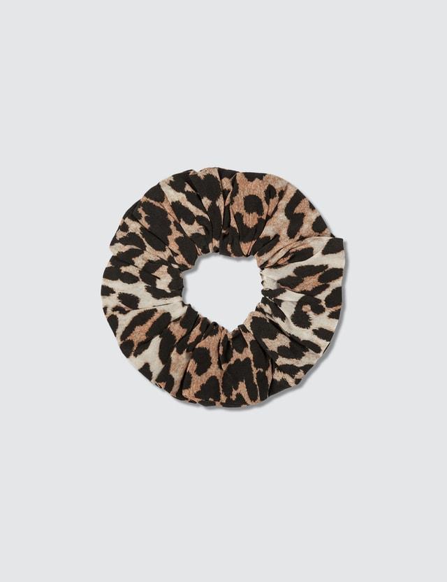 Ganni Silk Mix Scrunchie