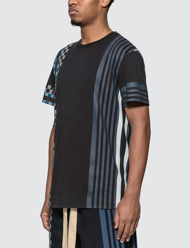 Loewe Stripe Anagram T-Shirt Multi Men