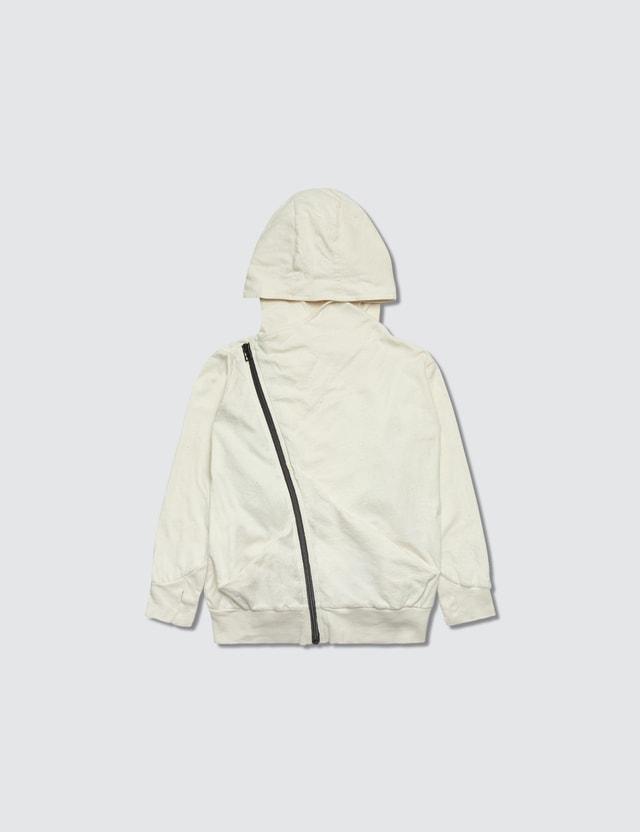 NUNUNU Embroidered Skull Hoodie Jacket