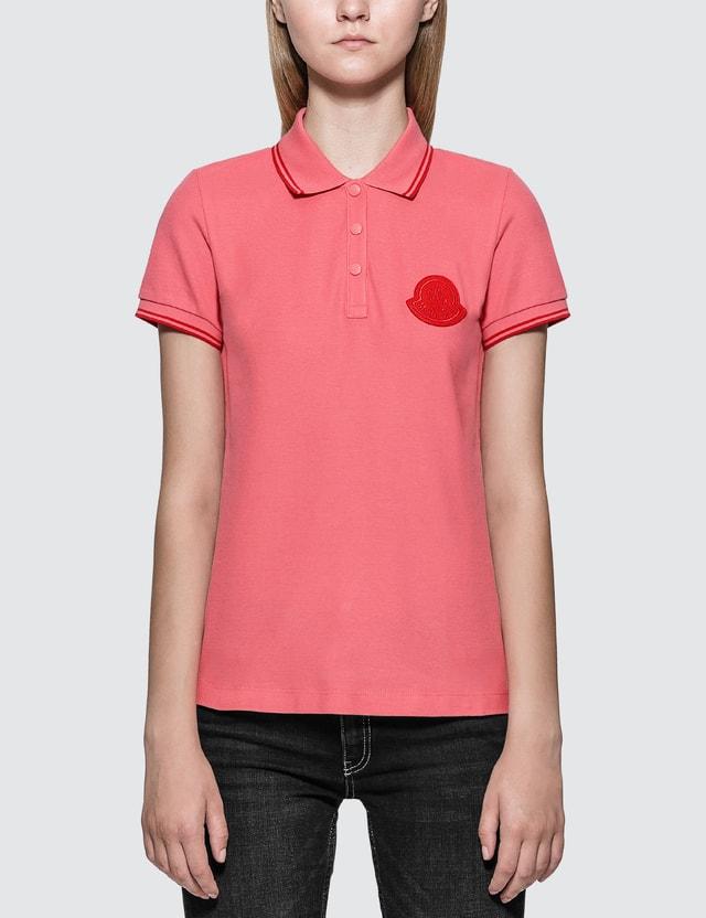 Moncler Cotton Pique Polo Shirt