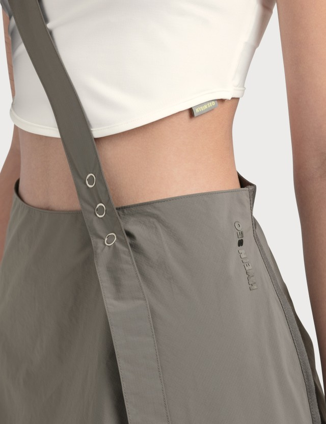 Hyein Seo Garter Skirt Grey Women
