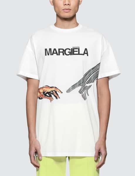 메종 마르지엘라 Maison Margiela Hand Graphic S/S T-Shirt