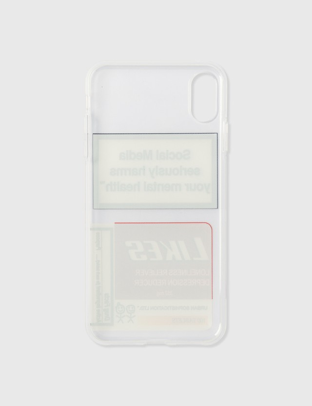Urban Sophistication Likes iPhone Case Clear Women