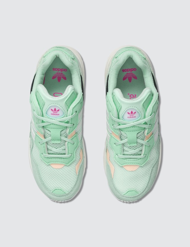 Adidas Originals Yung-96 C Ice Mint/cloud White/clear Orange Kids