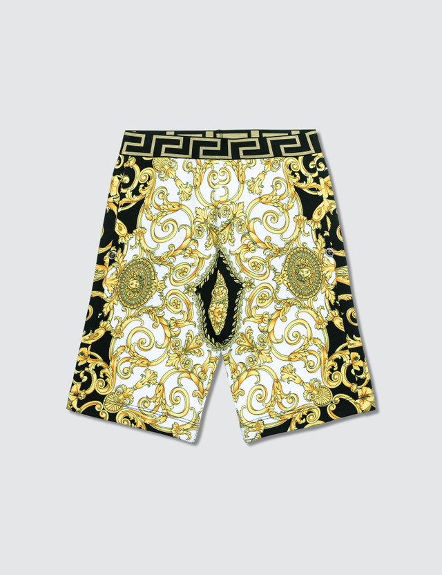 Versace Allover Printed Shorts (Kid)
