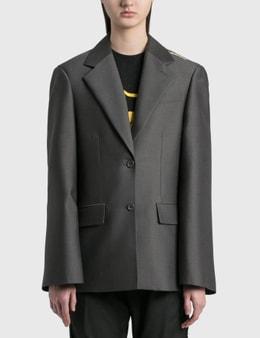 We11done Basic Single Button Jacket