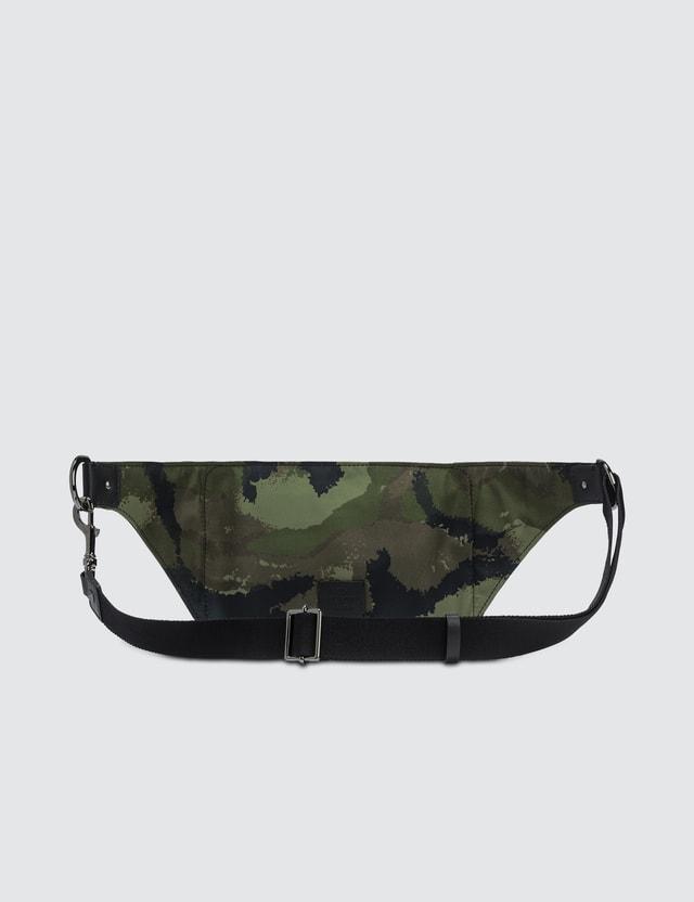 Valentino Camo Rock Stud Waist Bag