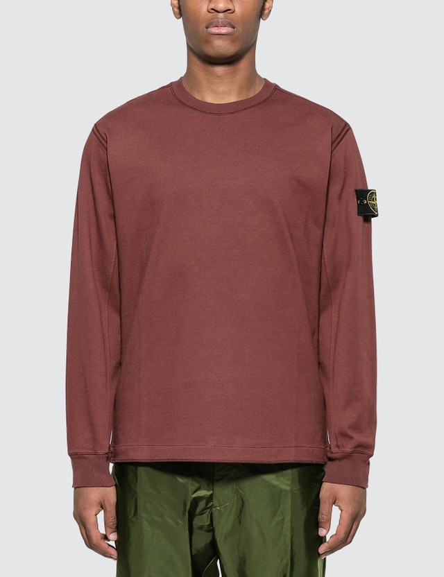Stone Island Badge Sweatshirt