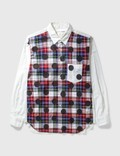 Comme des Garçons Shirt Comme Des Garçons Shirt Check Dots Shirt Picture