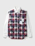 Comme des Garçons Shirt Comme Des Garçons Shirt Check Dots Shirt Picutre