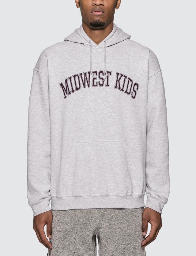 Midwest Kids Arch Logo Hoodie =e23 Men