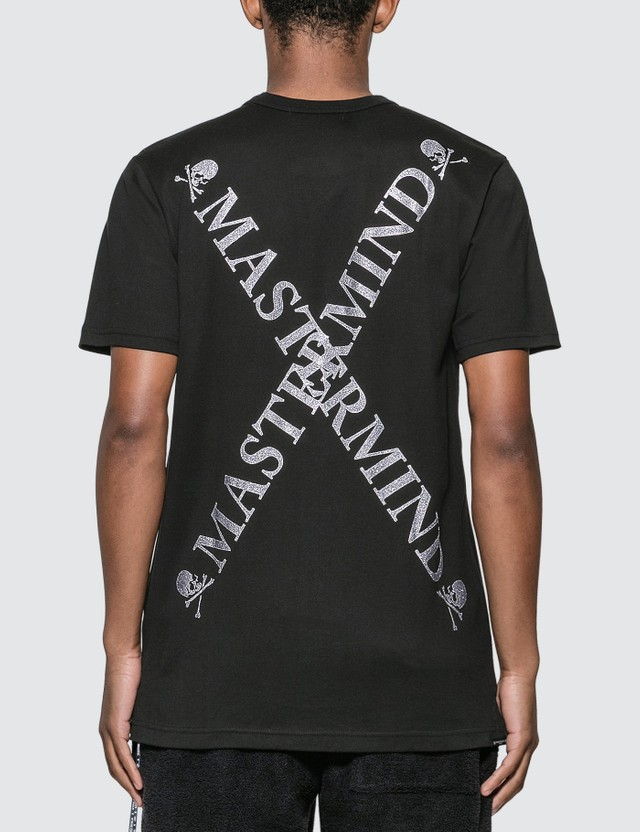 Mastermind World Crossing Logo Print T-Shirt