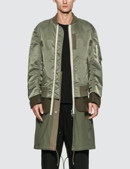 Sacai Nylon Twill Coat