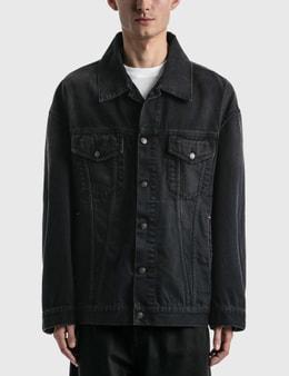 Acne Studios Morris Washed Out Black Denim Jacket