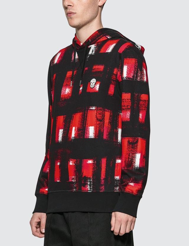 Alexander McQueen Painted Checker Hoodie
