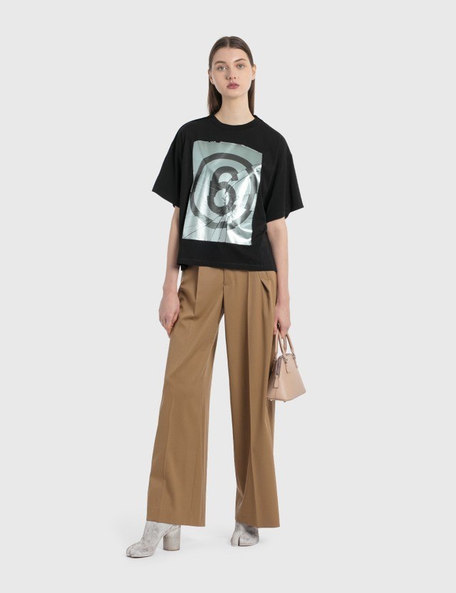 MM6 Maison Margiela Twill Pants Camel Women