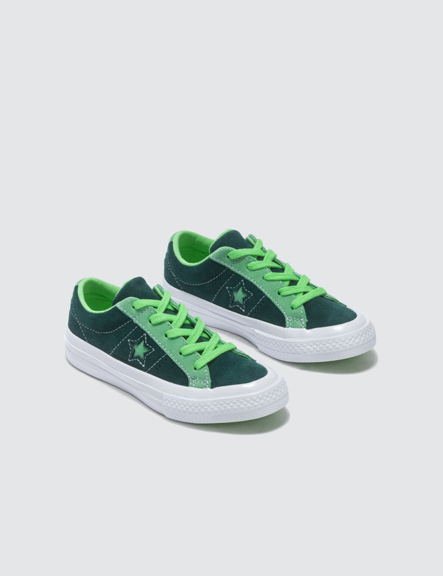 Converse One Star Youth Ponderosa Pine/neptune Green/illusion Green Kids