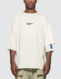 Guerrilla-group Layered Sleeve T-Shirt